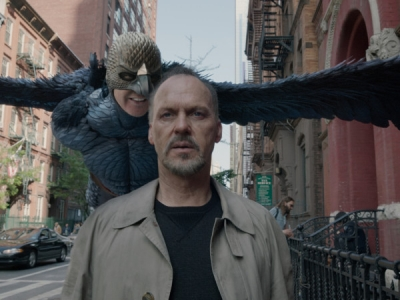 This scene in Birdman was filmed in De La Salle during the summer, just as we were moving into the new location